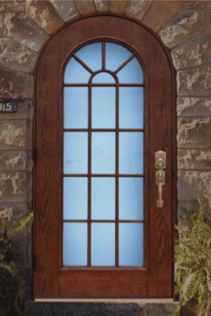 Round Top Door Home Guard Industries