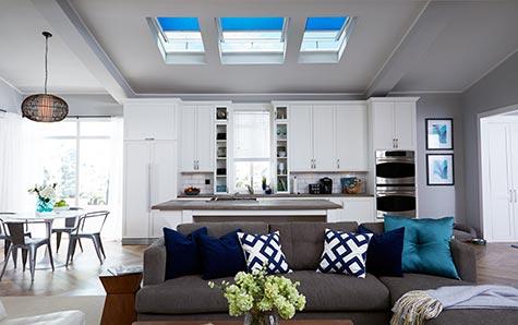 VELUX living room