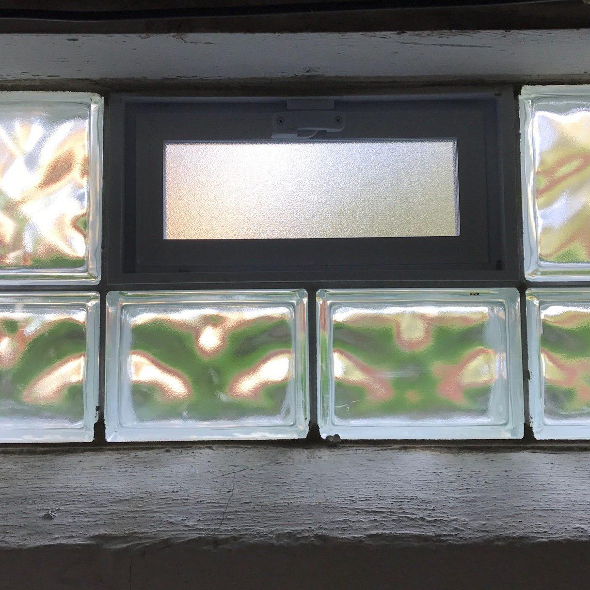 Basement window block